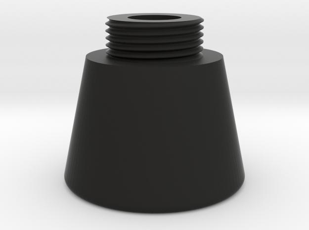 Stethoscope Bell Chest piece in Black Natural Versatile Plastic