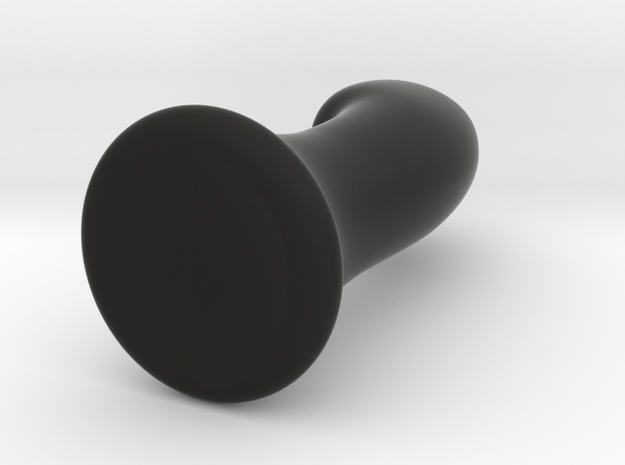 G-Spot Massager in Black Natural Versatile Plastic: Extra Small