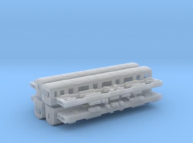 N Gauge D78 Underground Kit in Smooth Fine Detail Plastic