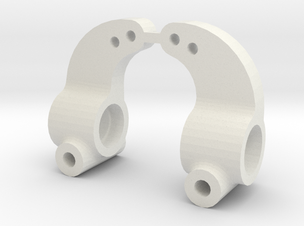 losi xx cr and xxt cr rear hub in White Natural Versatile Plastic