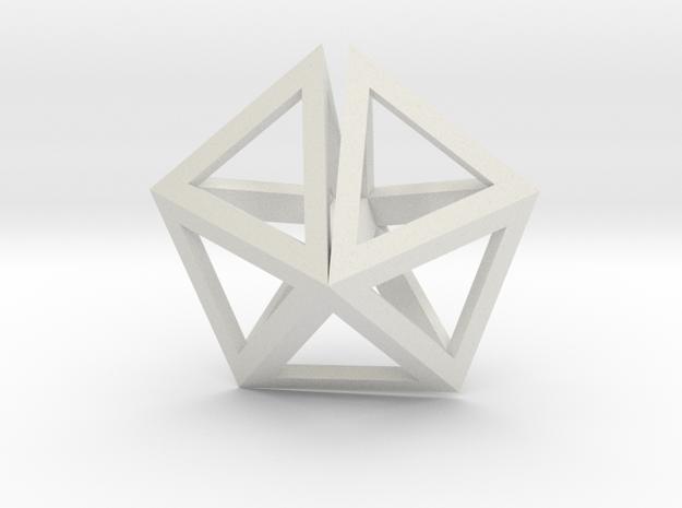 UFO Tetrahedrons pendant