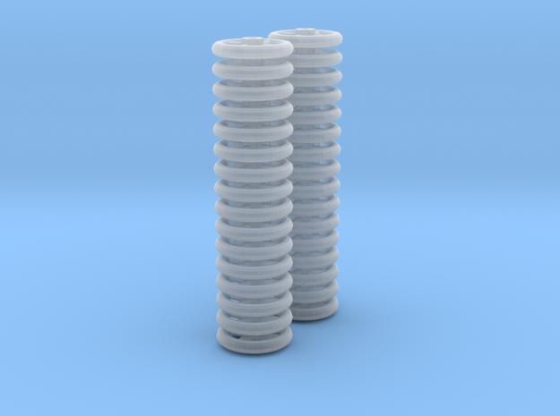 Handbrake_Wheel_10_Two_x_4Spoke - FXD only in Smoothest Fine Detail Plastic