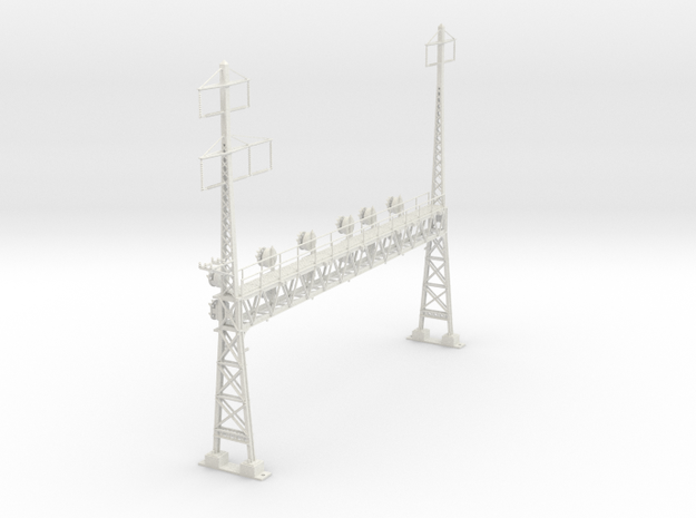 HO scale PRR W-signal LATTICE 6 track _W 2-3 PHASE