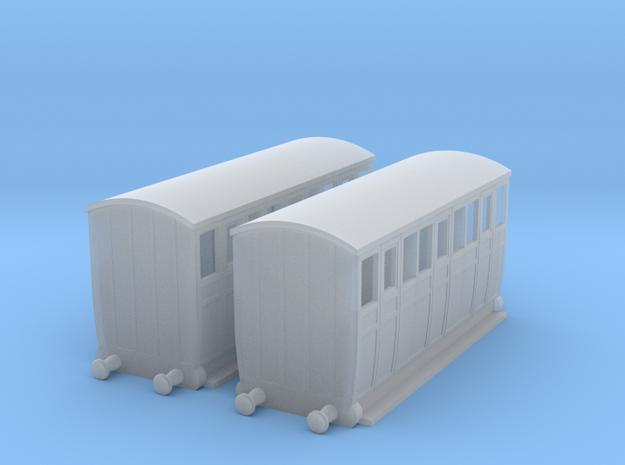 "009 Talyllyn Railway ""Brown Marshalls"" x2 in Smooth Fine Detail Plastic"