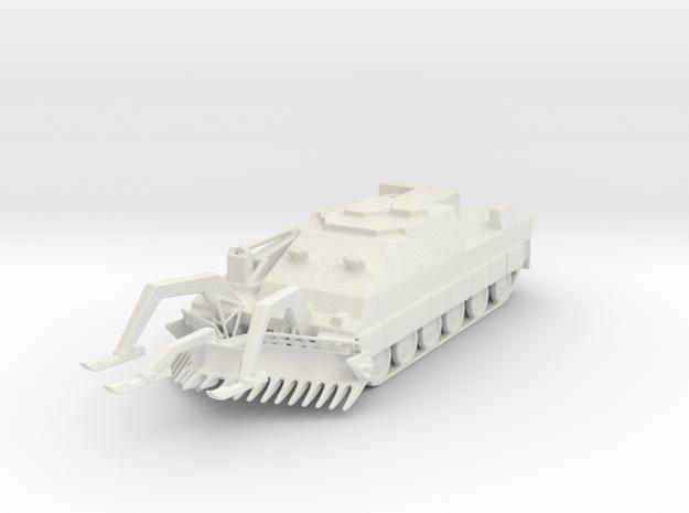 Trojan AVRE 1/72 in White Natural Versatile Plastic