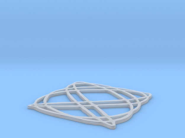 Lissajous coaster 4:5 pi/4