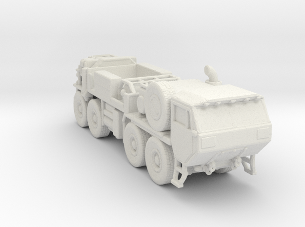 M984 Hemtt Wrecker 220 scale in White Natural Versatile Plastic
