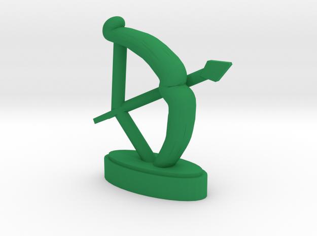 Playfigure Elf Bow Arrows in Green Processed Versatile Plastic