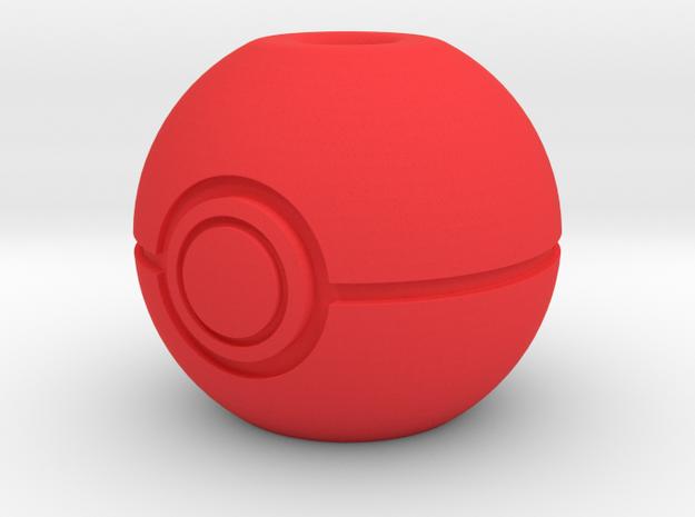 Begleri - Pokeball (1x) in Red Processed Versatile Plastic