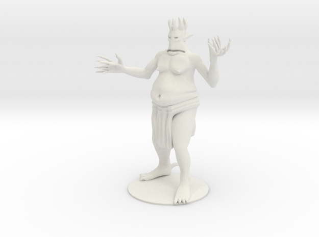 Grishbane the Demon Lord of Greed in White Natural Versatile Plastic