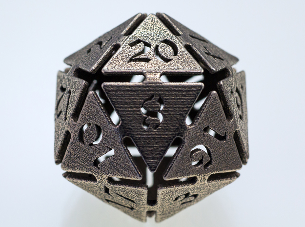 Big die 20 / d20 32mm / dice set