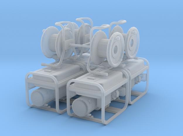 1/50 scale generator & cord reels