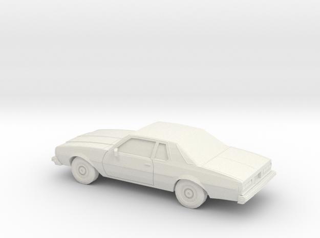 1/24 1977-78 Chevrolet Impala Coupe in White Natural Versatile Plastic