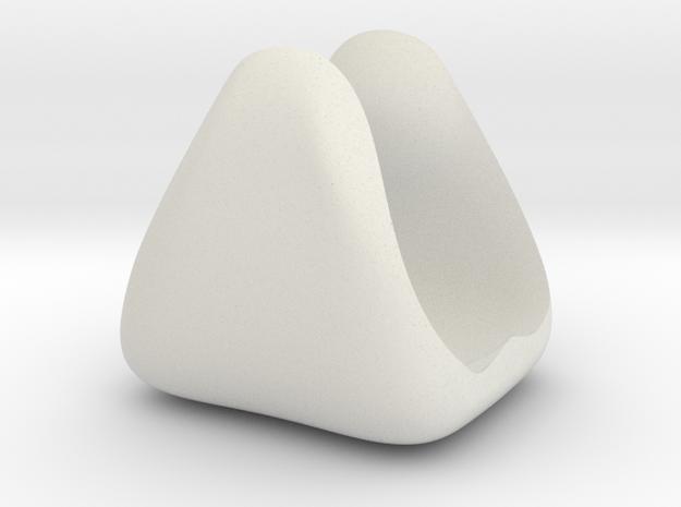 Filament Spool Holder in White Natural Versatile Plastic