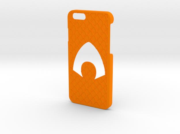 Aquaman Phone Case-iPhone 6/6s in Orange Processed Versatile Plastic