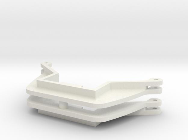 L&Y Bogie brake hanger in White Natural Versatile Plastic