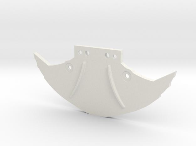 Bumper Mclaren  in White Natural Versatile Plastic