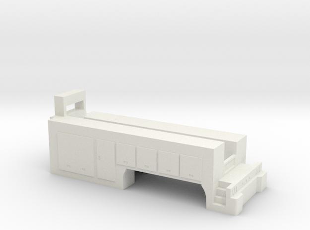 1/64 service body- semi in White Natural Versatile Plastic