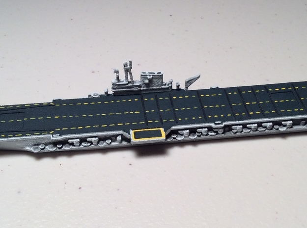 USS Midway w/o deck numbers 1/1800 3d printed Expertly painted by Variable