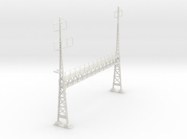 HO scale PRR W-signal LATTICE 6 track _W 2-3 PHASE in White Natural Versatile Plastic