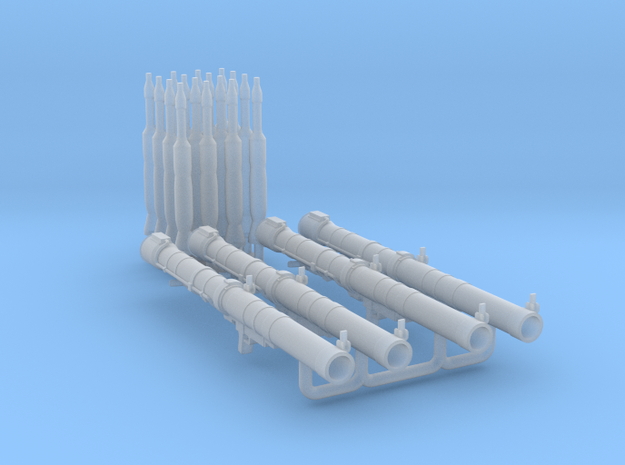 1/35 RPG-29 4x set MSP35-075 in Smoothest Fine Detail Plastic