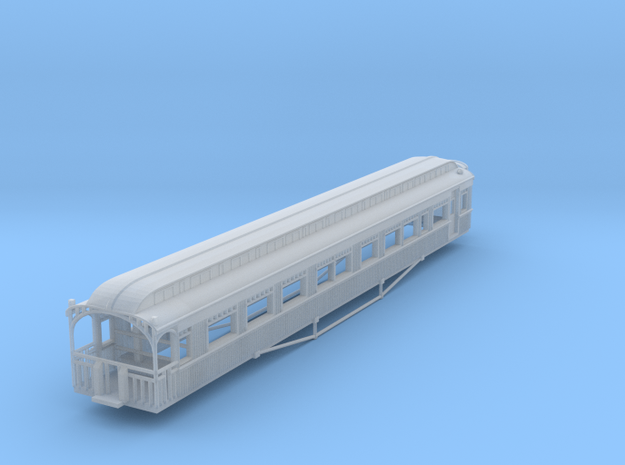 "HYCB - Victorian Railways ""YARRA"" Parlor Carriage in Smooth Fine Detail Plastic"