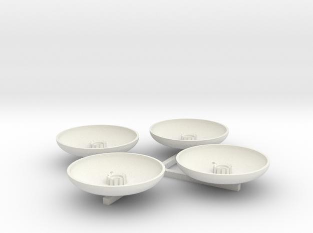 13-Landing pad in White Natural Versatile Plastic
