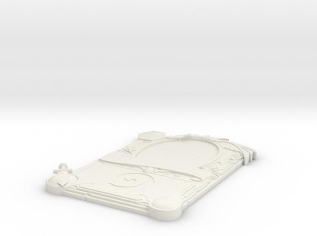 3D Legendary Hearthstone Card in White Strong & Flexible: Medium