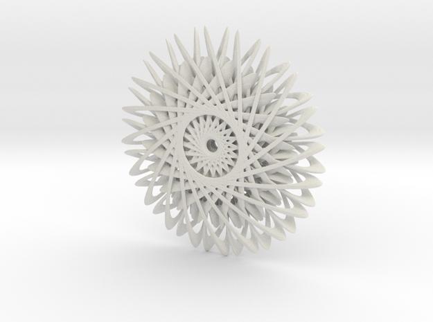 Everlasting Daisy in White Natural Versatile Plastic