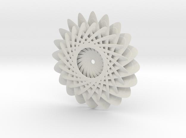 Chrysanthemum in White Natural Versatile Plastic