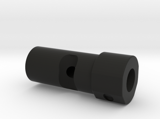 CS:GO AWP Flash Hider (14mm Self-Cutting Thread) in Black Natural Versatile Plastic