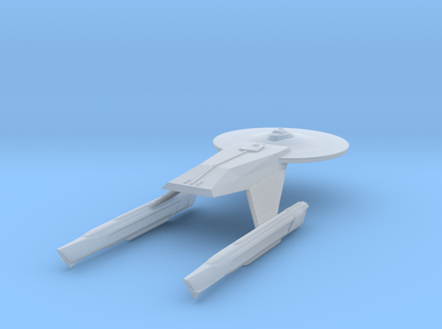 Federation Baker Class Destroyer 1:3900 in Frosted Ultra Detail