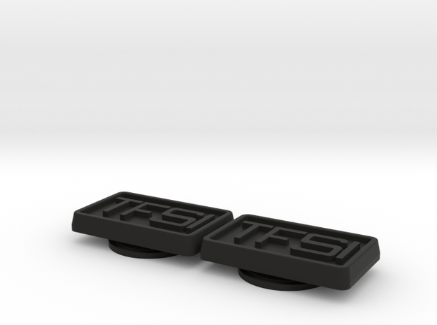 Badge for VW Golf 2 TFSI 2.0l in Black Natural Versatile Plastic