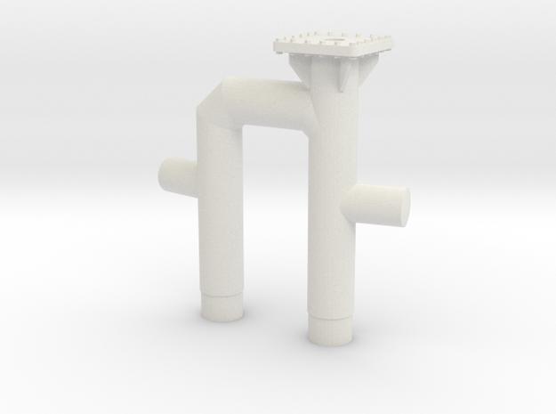 STANTUG 2208 - Towing Bit Aft  in White Natural Versatile Plastic