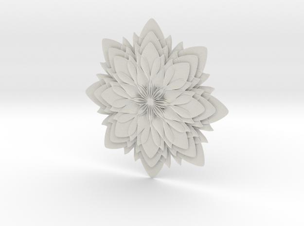 Dahlia-W in White Natural Versatile Plastic