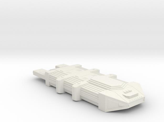 Omni Scale Seltorian Nest Ship (Small) MGL in White Natural Versatile Plastic