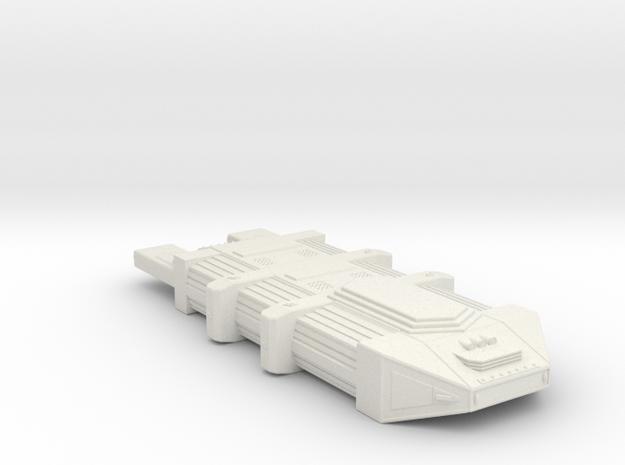 Omni Scale Seltorian Nest Ship (Medium) MGL in White Natural Versatile Plastic