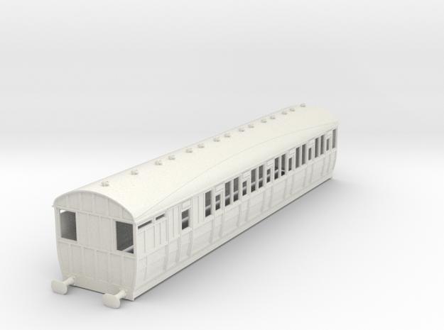 o-43-lner-quad-d80-brake-3rd-coach-5 in White Natural Versatile Plastic