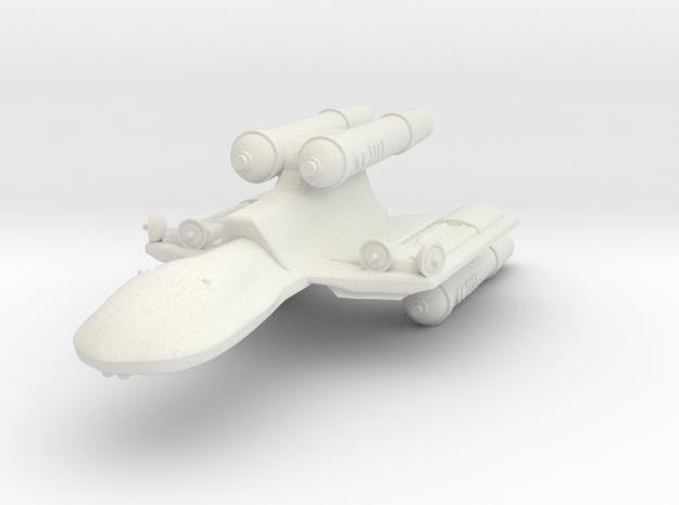 3788 Scale Romulan FireHawk-C Scout/Survey Ship MG in White Natural Versatile Plastic