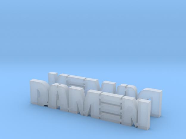 logodamen-NH1816-1:20 in Smoothest Fine Detail Plastic