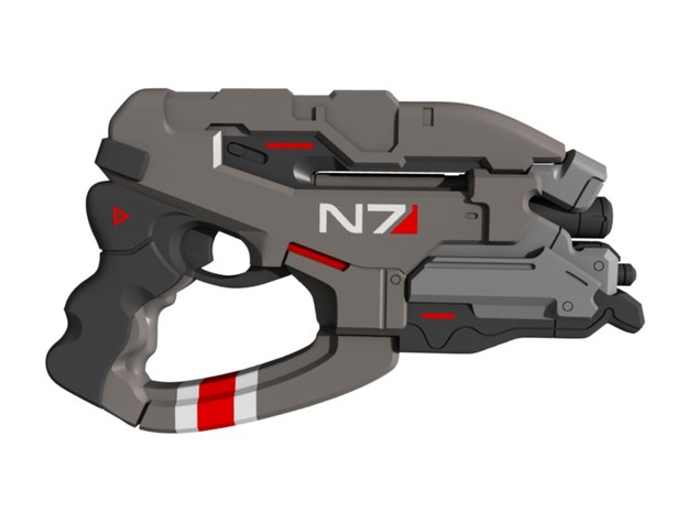 Mass Effect - 1:6 scale - N7 Eagle in White Natural Versatile Plastic