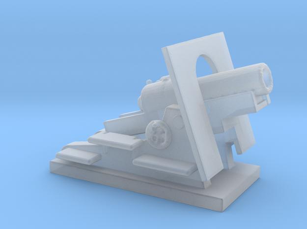 Mortier de 280 mm Schneider 1/200 ww1 artilry  in Smooth Fine Detail Plastic
