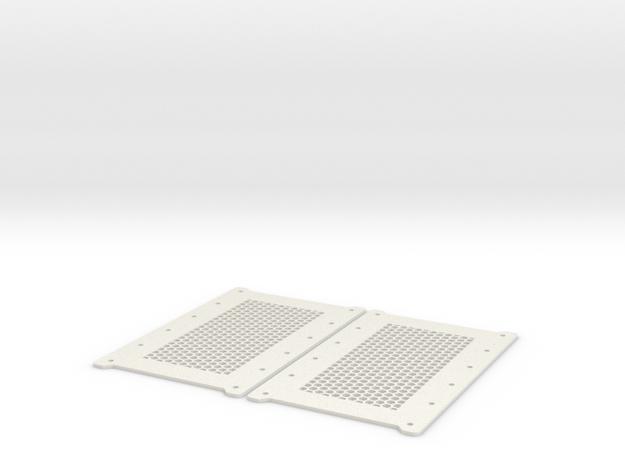 "Ultralight 6x 3.5"" Hard Drive Caddy in White Natural Versatile Plastic"