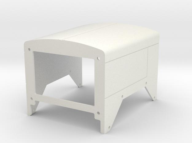 C500 Heavy Hauler Hood V2 in White Natural Versatile Plastic