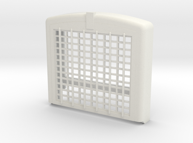 C500 Heavy Hauler Grill V1 in White Natural Versatile Plastic