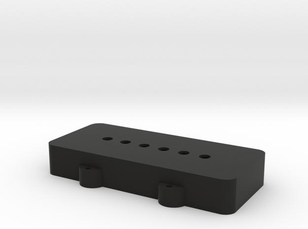 Blank H in Black Natural Versatile Plastic
