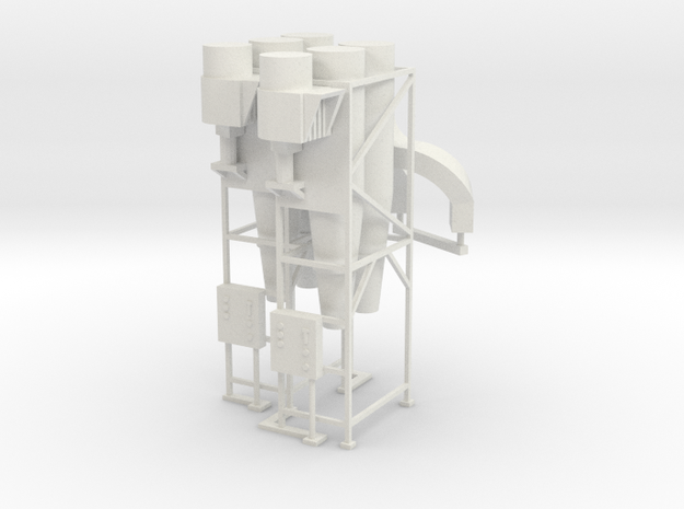 Cyclone Dust Collector (2) HO 87:1 Scale