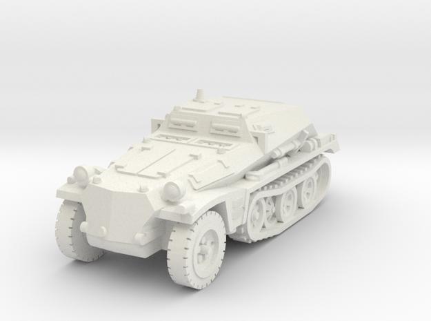 1-100 Sdkfz 252 in White Natural Versatile Plastic