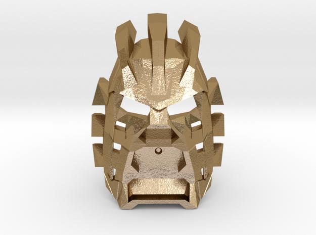 Avhokii in Polished Gold Steel