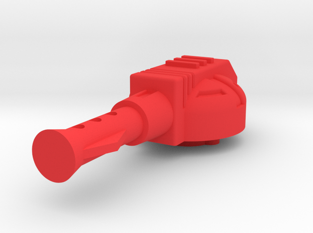 Starcom Sky Roller Cockpit Sidecannon in Red Processed Versatile Plastic